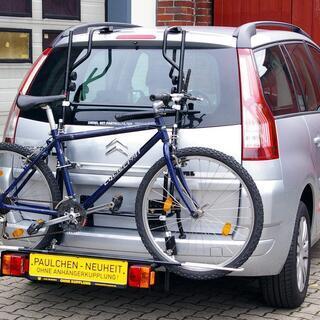 Paulchen サイクルキャリア(自転車キャリア)3台OK !...