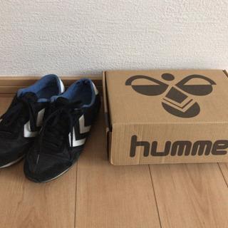 hummel 23cm 黒 スニーカー