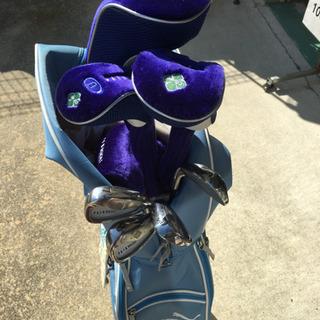 JK0003  ゴルフクラブセット8本&pumaキャディバ…
