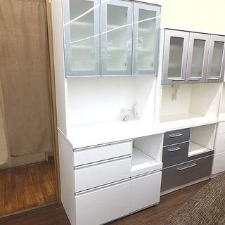 札幌 引き取り キッチンボード/セパレート食器棚 大型 キッチン...