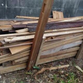 廃材 薪ストーブ お風呂沸かし 古材木 薪