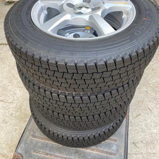 タイヤ スタッドレス 155/80R14  4本セット CVW