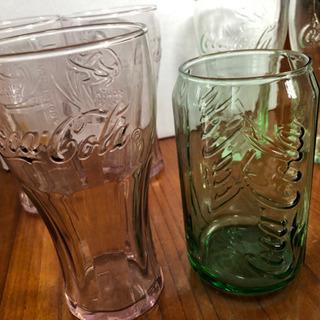 コカ・コーラのグラス  7個