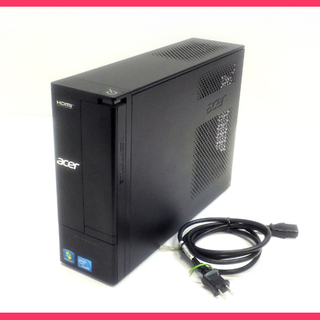 [K1102B] Win10 搭載 acer スリムPC Asp...