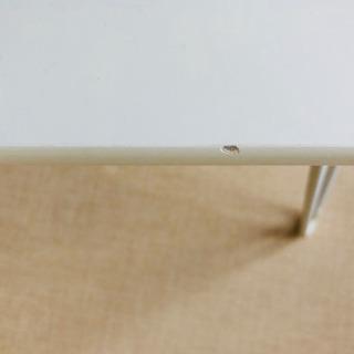 折り畳みテーブル(白) - 家具