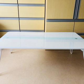 折り畳みテーブル(白) - 泉佐野市