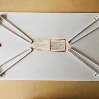 折り畳みテーブル(白) - 売ります・あげます