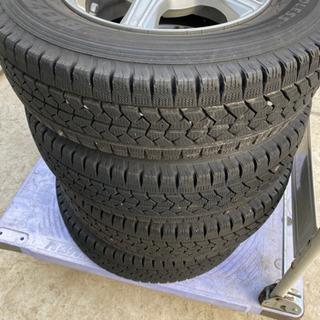 タイヤ スタッドレス 165R13 LT 4本セット BALMINUM