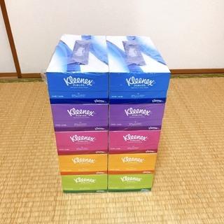 クリネックス ティシュー 360枚(180組) 5箱 ×2パック...