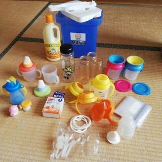 大量!哺乳瓶マグストローwowマグスパウト等ミルク関連用品セット