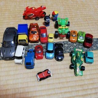 ミニカー等、車の玩具セット
