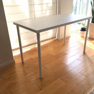 新品 テーブル ホワイト 120✖️60㌢