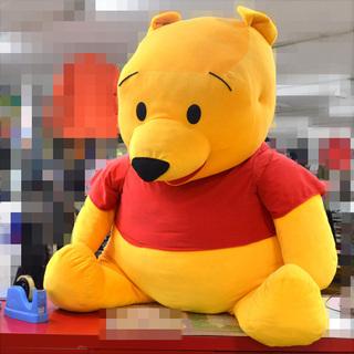 超大型!クマのプーさん ぬいぐるみ (0220319024)