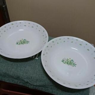 コレール 食器 深皿 2枚