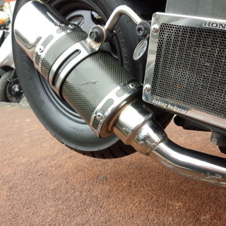 NO.2943 ズーマー(ZOOMER) 水冷4サイクル マフラー 他カスタム車 シルバー ☆彡 - 売ります・あげます