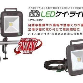 新品 ハタヤ LWA-30 屋外用LEDケイ・ライト 30W 1...