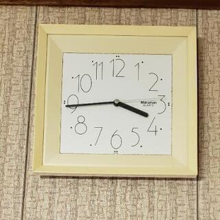 壁掛け時計 さしあげます③