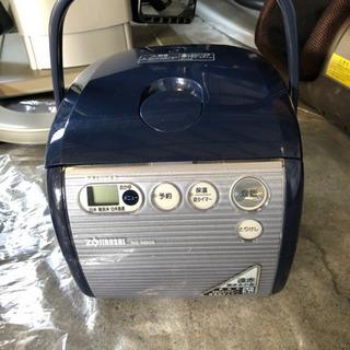 象印 3合炊き炊飯器 NS-NB05 ブルーの画像