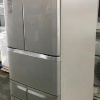 TOSHIBA 東芝 ノンフロン6ドア冷凍冷蔵庫 シルバー GR...