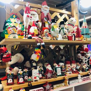 【クリスマス雑貨入荷しました】お店の飾りや玄関、トイレにク…