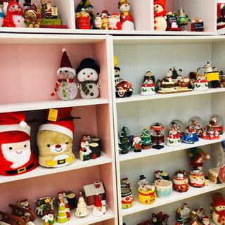 【クリスマス雑貨入荷しました】お店の飾りや玄関、トイレにクリスマスの置物はどうですか♪浜村鹿野温泉ICから5分です。 - 鳥取市