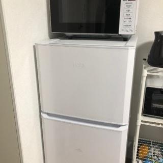 家電4点セット(冷蔵庫、電子レンジ、洗濯機、電気ケトル)