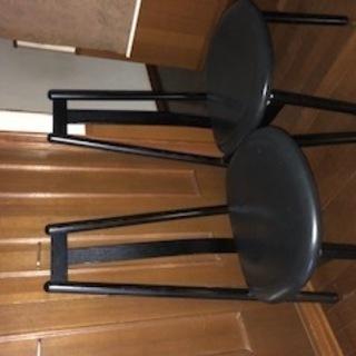アクタス 木製椅子2脚