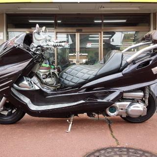 NO.2954 マジェスティ250C (MAJESTY) フルエアロ ステンレスマフラー ブラック ☆彡 - バイク