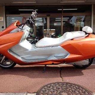 NO.2956 マグザム ステンレスマフラー メタリックオレンジ&シルバー ☆彡 - バイク