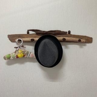 流木のコートハンガー ハンガーラック 木製 ウォールハンガー