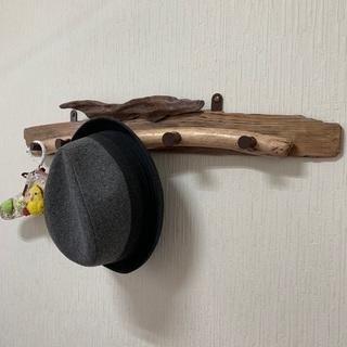 流木のコートハンガー ハンガーラック 木製 ウォールハンガー - 堺市