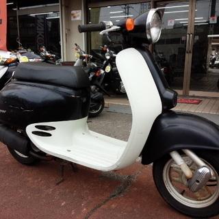NO.2962 ジョルノ 2サイクルエンジン ブラック&ホワイト ☆彡