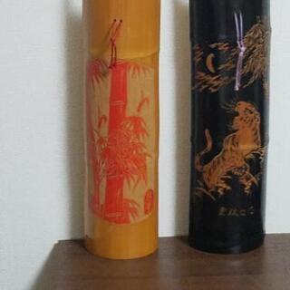 香川の名工、西村文男 虎と竹の彫り物