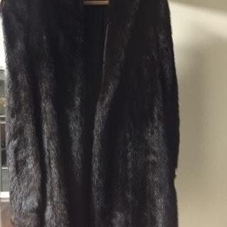 ミンクの毛皮 半コート