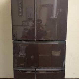 TOSHIBA 東芝 ノンフロン6ドア冷凍冷蔵庫 ターコイズ G...