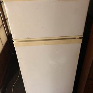 東芝2ドア冷蔵庫 ジャンク