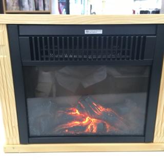 ニトリ ミニ暖炉ヒーター NTL1000WD