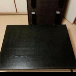 ☆材質は木の黒座卓☆