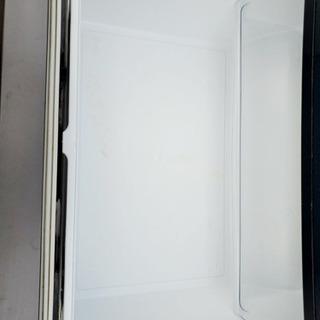 566番 MITSUBISHI ✨ノンフロン冷凍冷蔵庫❄️ MR-C37R-B‼️ - 新宿区
