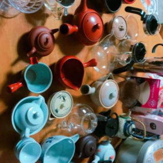 急須、お湯さし、コーヒー、ティーポット
