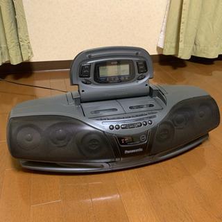 [取引なし処分済]Panasonic RX-DT75 ポータブルステレオ コブラトップ CDダブルラジカセの画像
