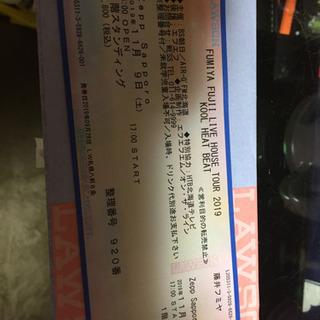 藤井フミヤ Zepp Sapporo 11月 9日