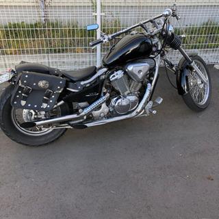 アメリカンバイク スティード 400cc
