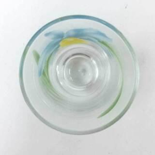【新品同様】【美品】香蘭社 ペアグラス 花柄  - 生活雑貨