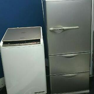 【受け渡し者決まりました】冷蔵庫、洗濯機、電子レンジ【家電3点セ...
