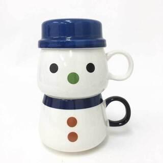 【新品同様】【美品】 雪のマーくん オリジナルマグカップ ペアマ...