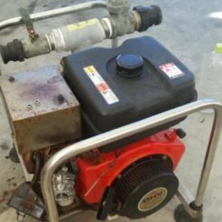 水ポンプのエンジン修理🔧匠人