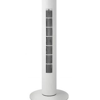 メカ式スリムタワーファン 3段階風量調節&自動首振り左右80度 ...
