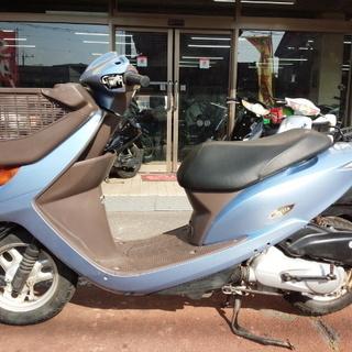 NO.2970 ディオチェスタ (DIO) 4サイクルエンジン フロントバスケット ライトブルー ☆彡 - バイク