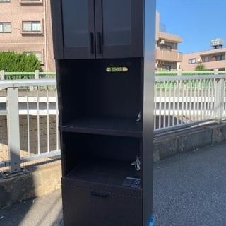 ☆大幅値下げ!! 食器棚 ¥5500 レンジ台 炊飯器台 キッチ...